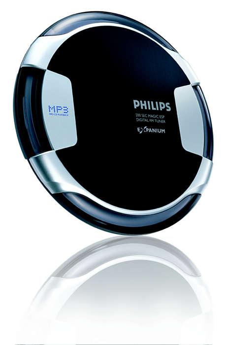 Lecteur de CD-MP3 mince