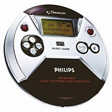 EXP521/00C  Przenośny odtwarzacz MP3-CD