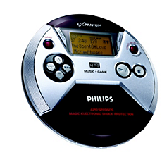 EXP521/05Z  Portable MP3-CD Player