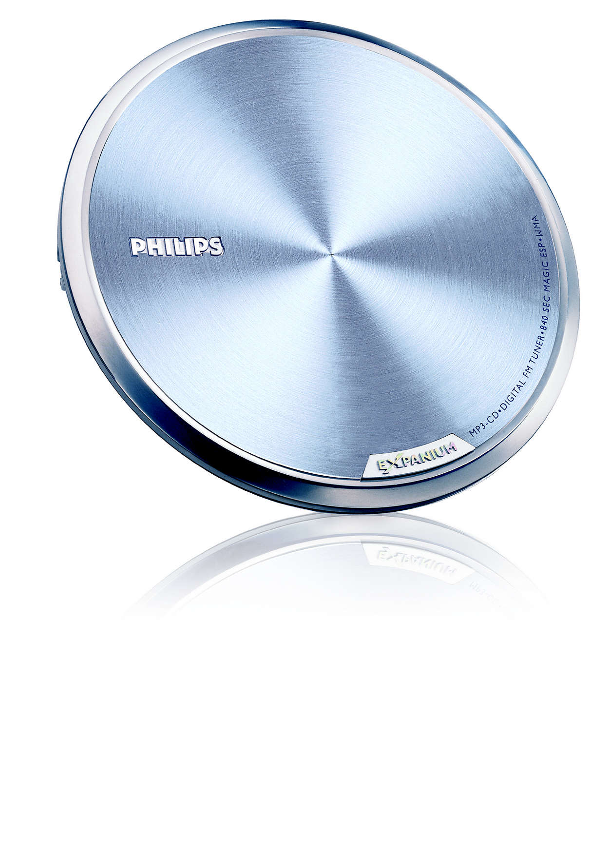 Super slim and ultra lite MP3-CD player