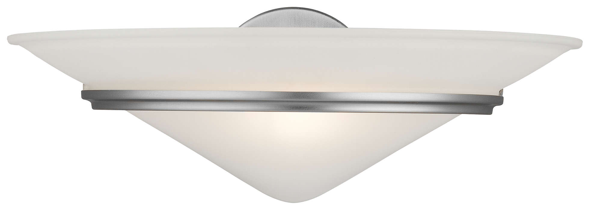 Regatta II 1-light Wall in Satin Nickel finish