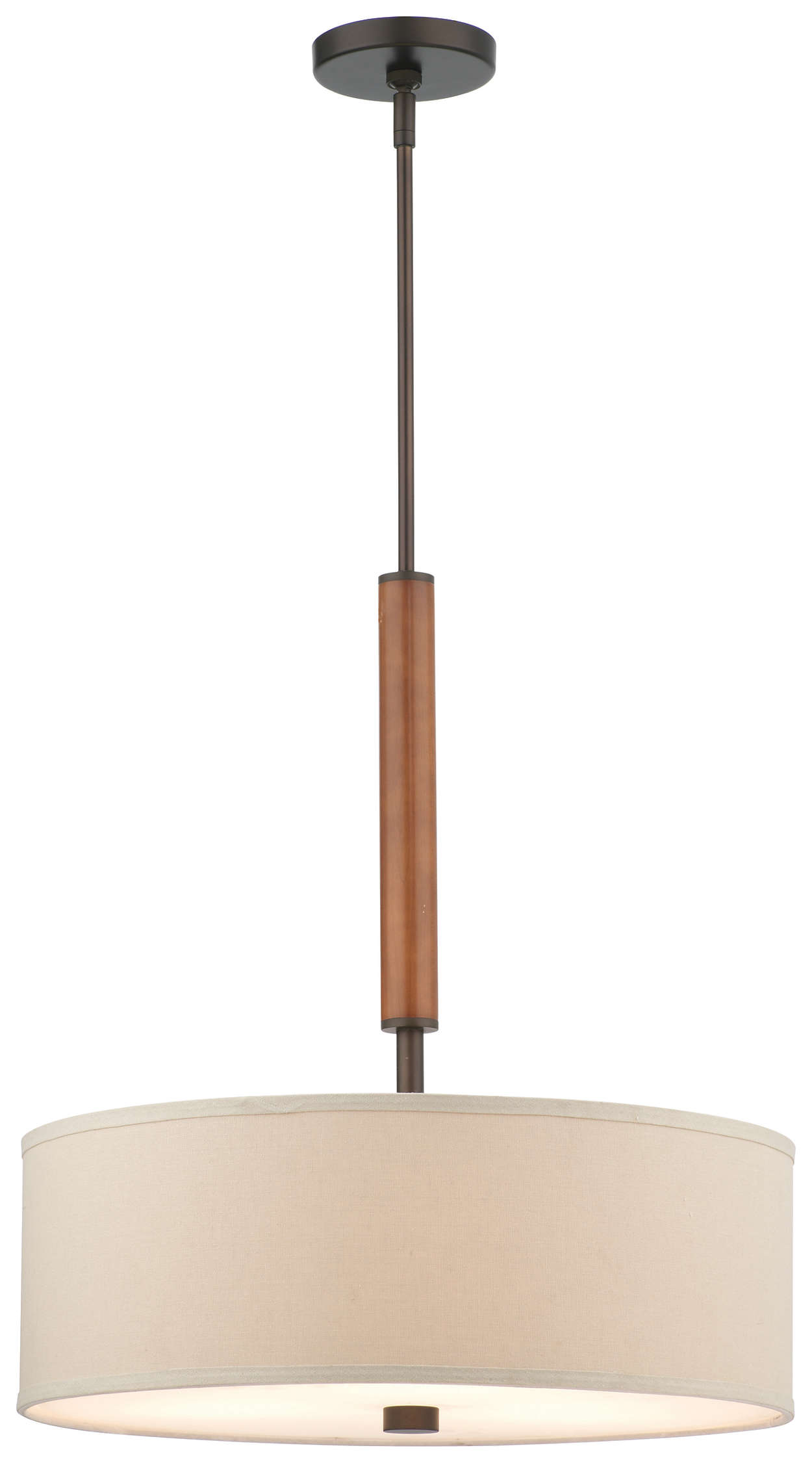 Embarcadero 3-light Pendant, Sorrel Bronze finish