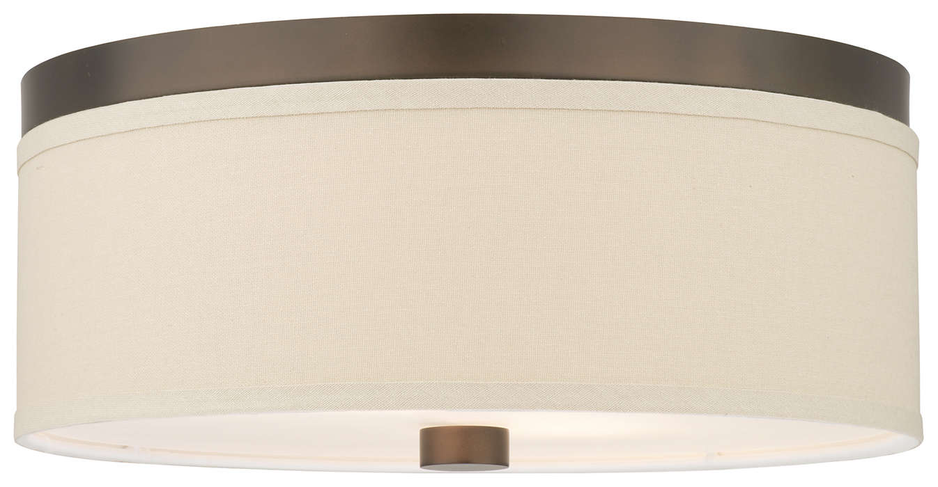 Embarcadero 2-light Ceiling, Sorrel Bronze finish
