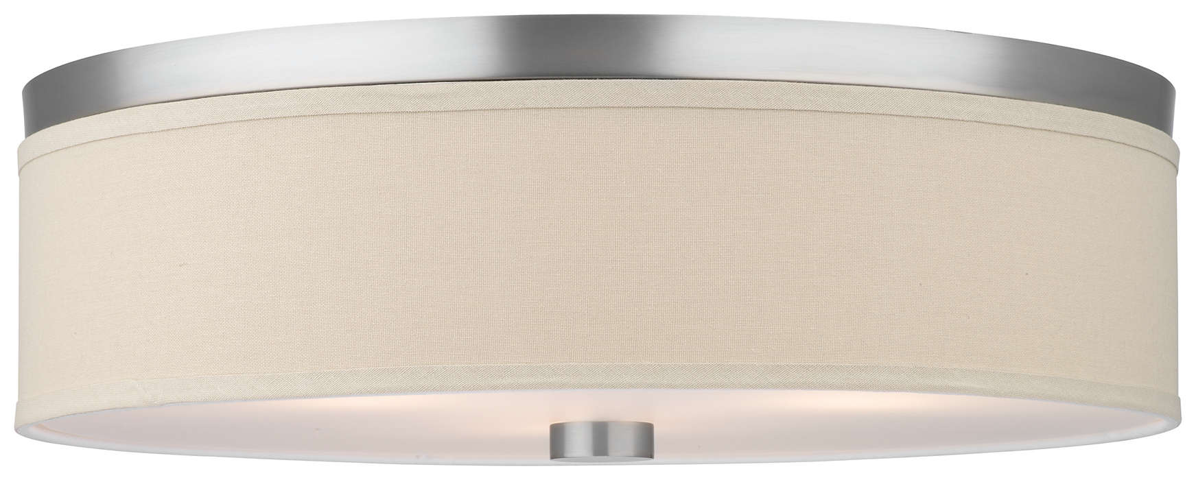 Embarcadero 3-light Ceiling in Satin Nickel finish