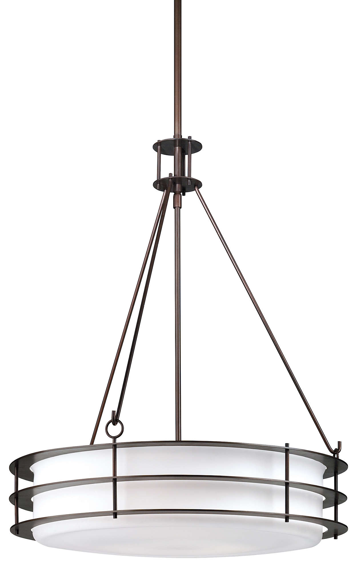 Hollywood Hills 3-light Pendant, Deep Bronze