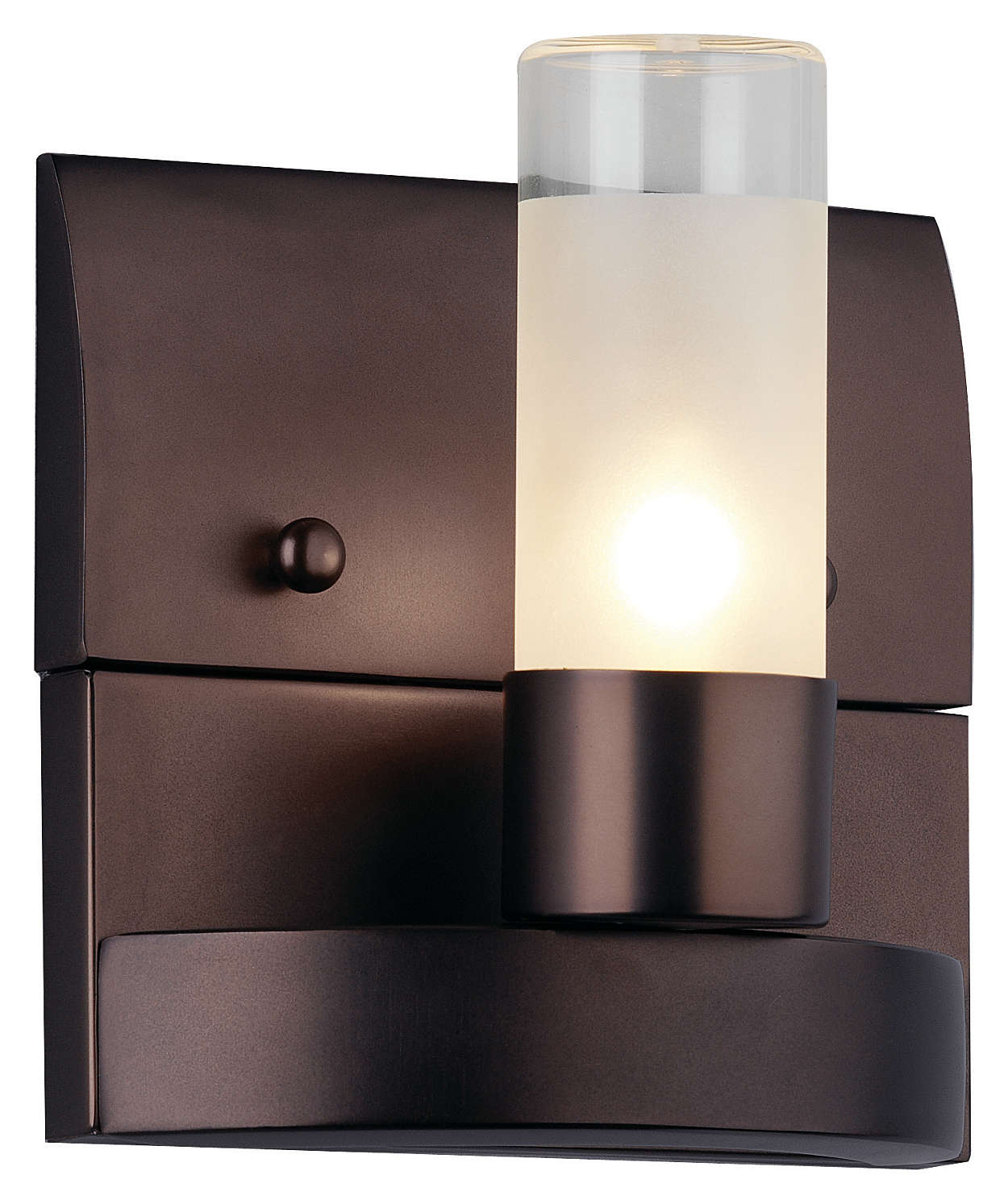Revolution 1-light Bath in Merlot Bronze finish