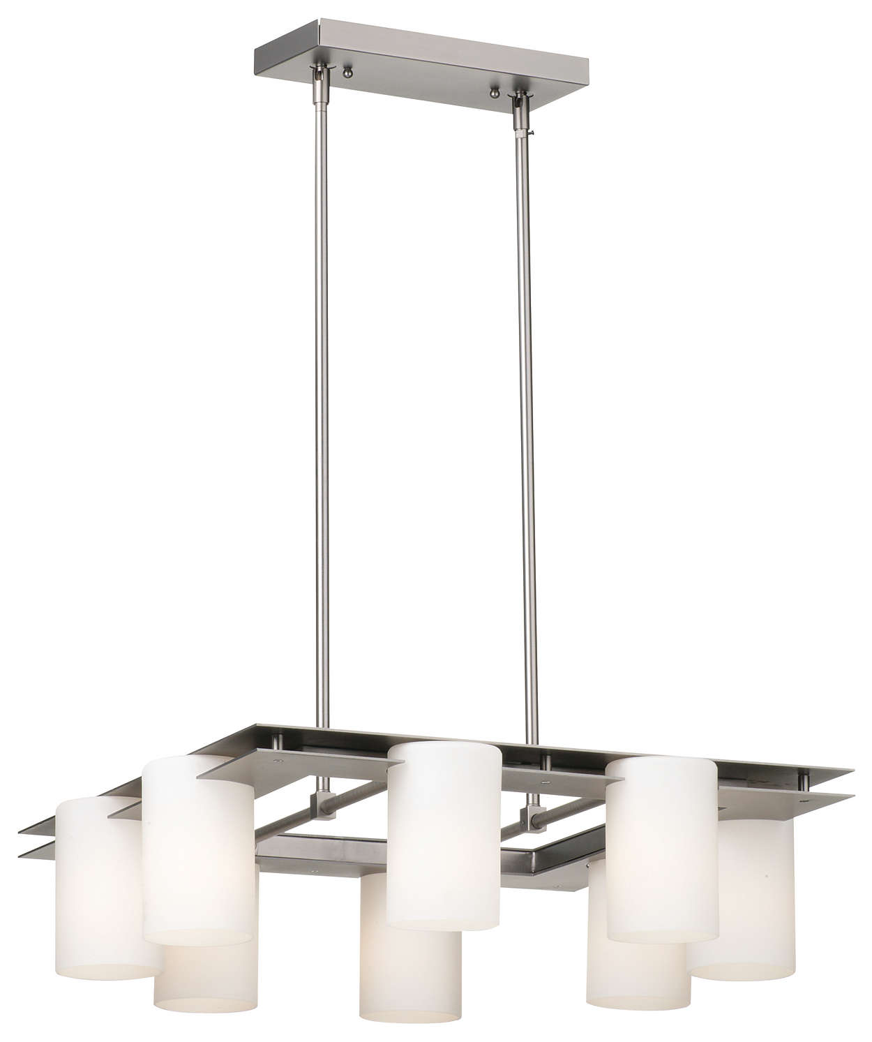 Ingo 8-light Chandelier in Gun Metal finish