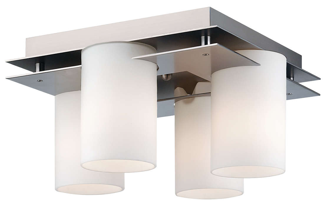 Ingo 4-light Ceiling in Gun Metal finish