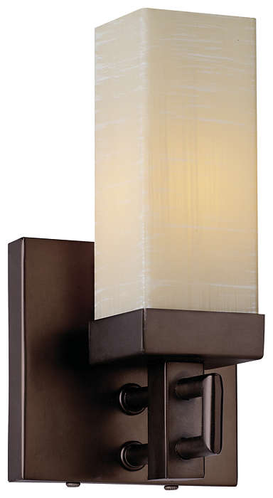 Casa 1-light Bath in Merlot Bronze finish