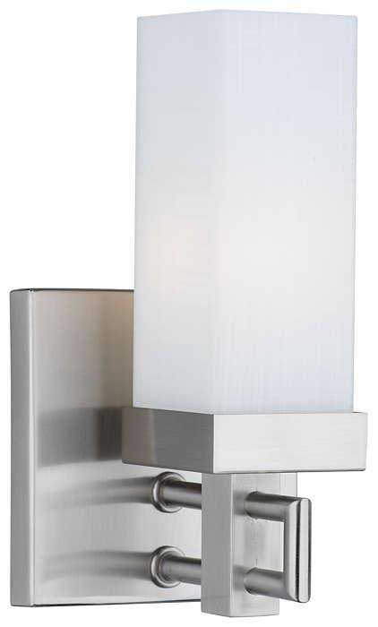 Casa 1-light Bath in Satin Nickel finish