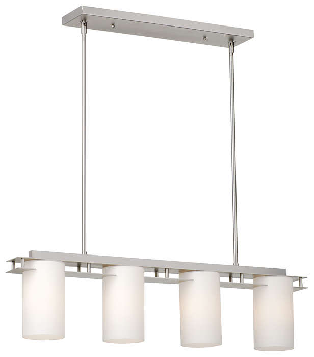 Ingo 4-light Pendant in Gun Metal finish