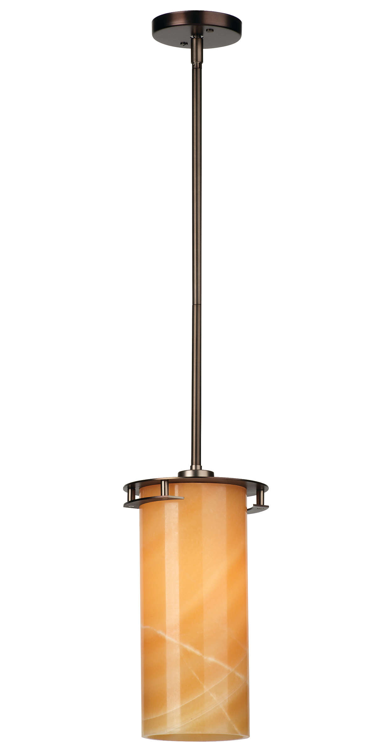 Ingo 1-light Pendant in Merlot Bronze finish