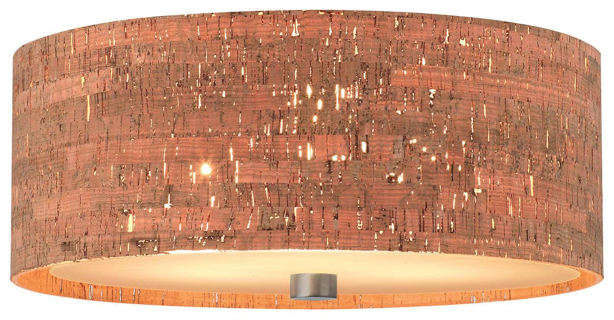 Alentejo 3-light Ceiling in Satin Nickel finish