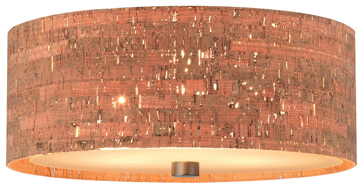 Alentejo 3-light Ceiling in Merlot Bronze finish