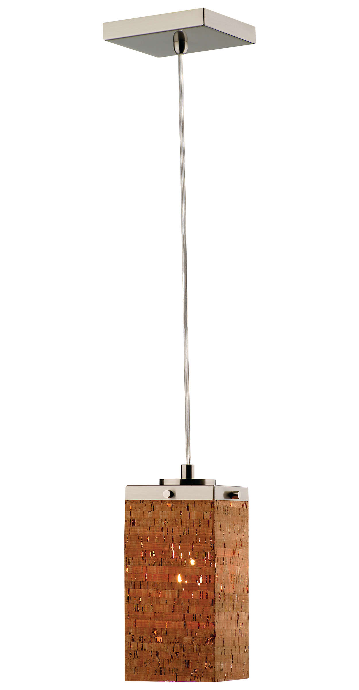Alentejo 1-light Pendant in Satin Nickel finish