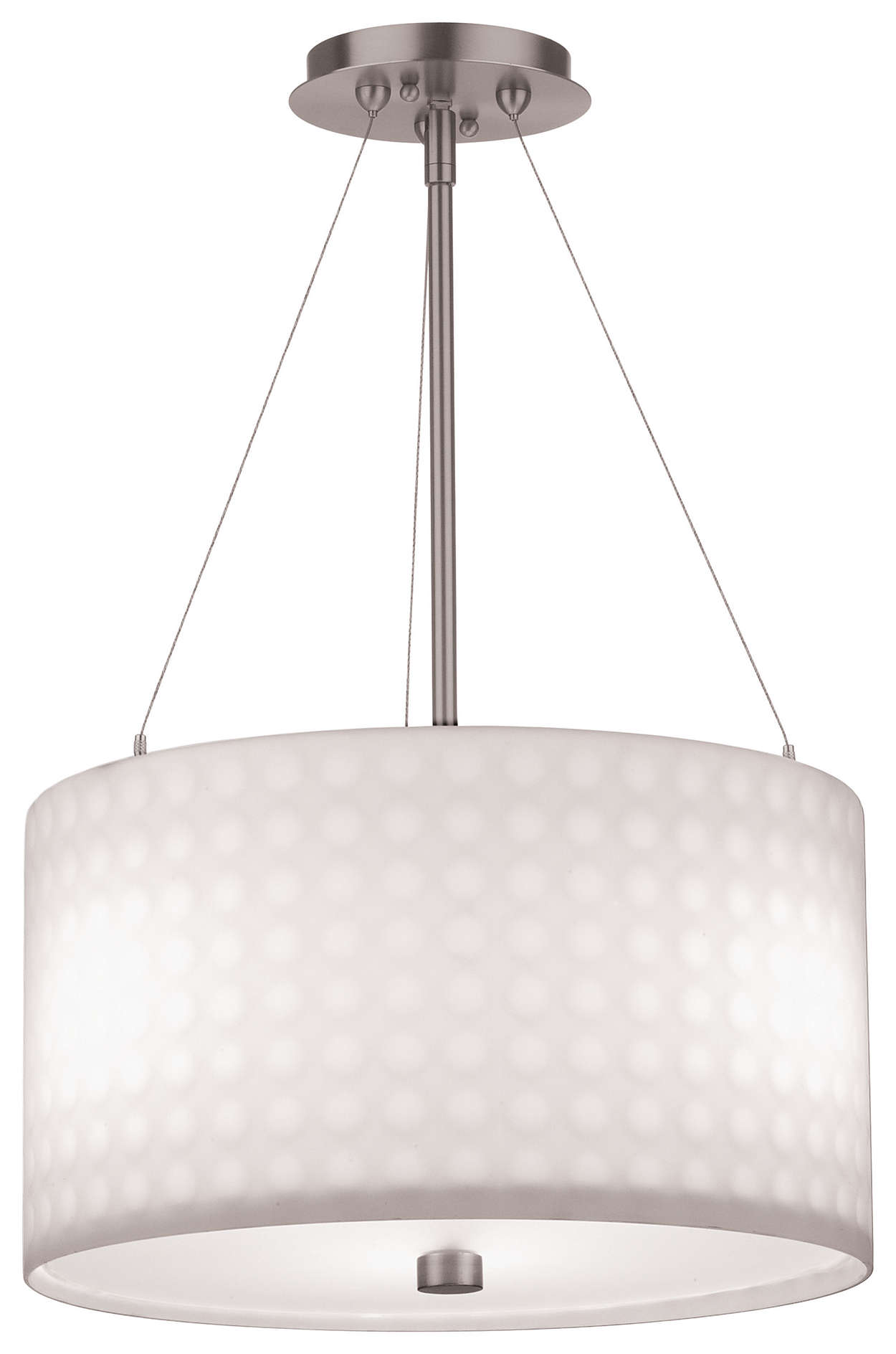 Fore 3-light Pendant in Satin Nickel finish