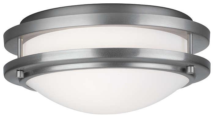 Cambridge 1-light Ceiling in Satin Nickel finish