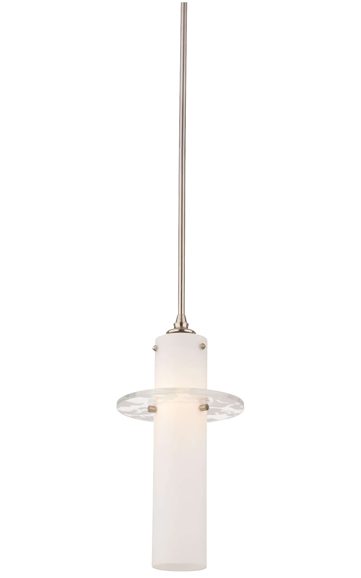 Dana 1-light Pendant in Satin Nickel finish