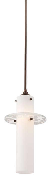 Dana 1-light Pendant in Merlot Bronze finish