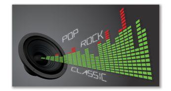 Control digital de sonido con modos óptimos para cada estilo musical