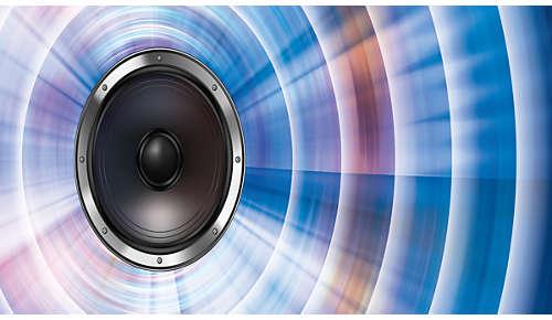 Dynamic Bass Boost voor een diep, indrukwekkend geluid