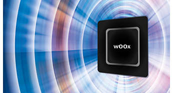 wOOx™ loudspeaker Technology for deep and powerful bass