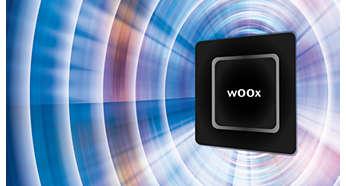 wOOx™-høyttalerteknologi for dyp og kraftig bass