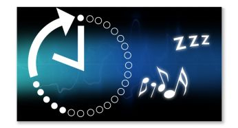 Sleep timer for easy falling asleep to your favorite music