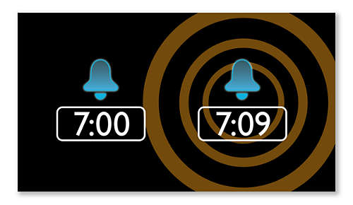 Alarmherhaling met snoozetijd