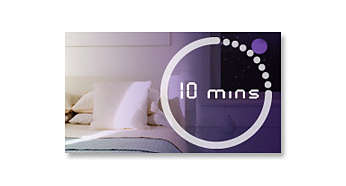 Wake up and sleep timer functions