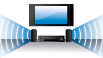 Hi-Fi stereo VHS enhances audio playback