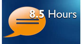 До 8,5 часов разговора