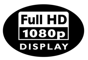 Full HD LCD display, 1920 x 1080p