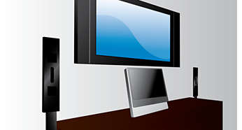 Ultra-slim flat panel speakers to complement your home
