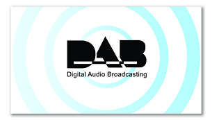 Interference-free DAB radio