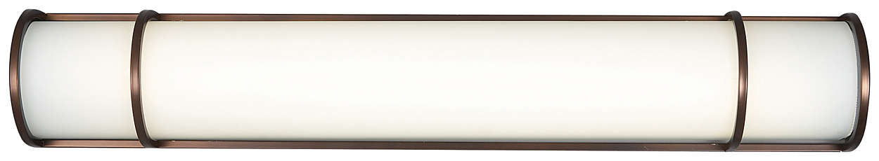 Palette 2-light Bath in Merlot Bronze finish