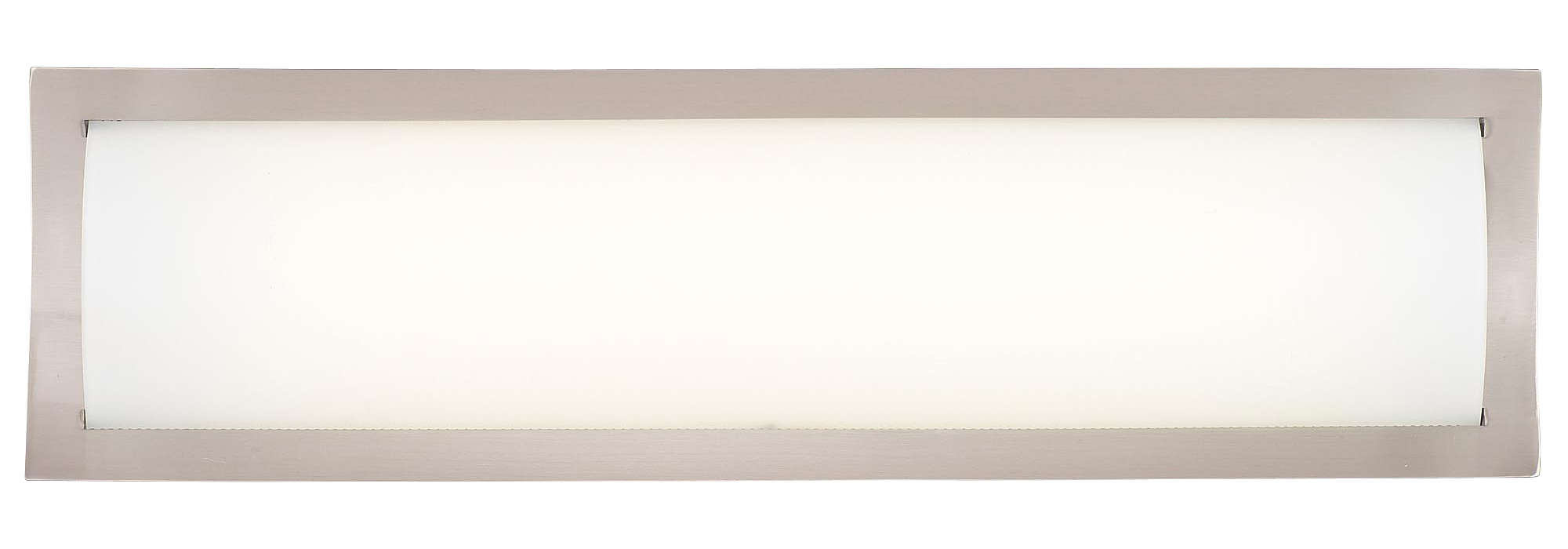 Rene 1-light Bath in Satin Nickel finish