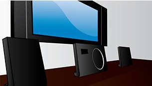 Avancerad design som matchar alla platt-TV