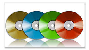 Play DVD, DVD+/-R, DVD+/-RW and (S)VCD discs