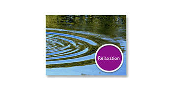 La música de relajación preinstalada te permite dormir plácidamente