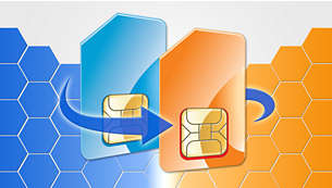 Dual SIM cards for hassle-free switching of phone numbers
