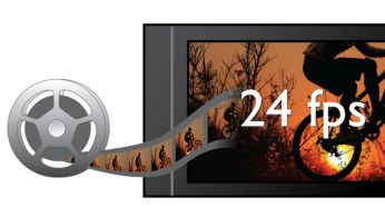 Risoluzione 1080p a 24 fps per immagini di qualità cinematografica