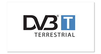 Support DVB-T standard for free-to-air digital TV