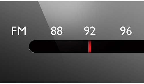 Analoge FM/MW-radiotuner