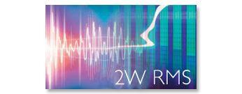 Общая выходная мощность 2 Вт (RMS)
