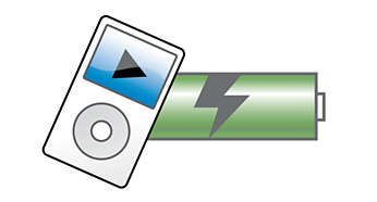 Charge your iPod even during playback