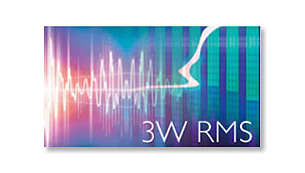 3W RMS total output power