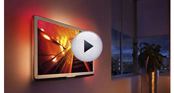 Ambilight Spectra 3 for an immersive viewing experience