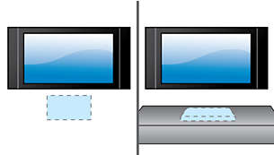Enkelt att installera på vägg eller bord