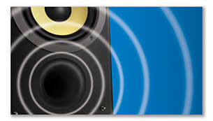 Bass Reflex Speakers for a deep, powerful sound